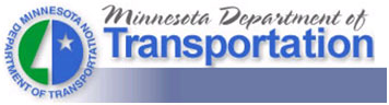 Minnesota Department of Transportation logo.