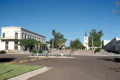 Photo of the Plaza before reconstruction