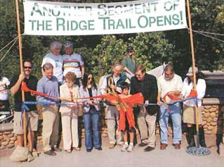 Photo of a ribbon cutting ceremony