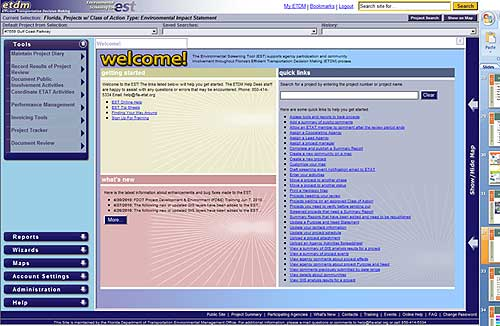 Screenshot of webpage