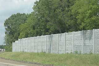 Photo of Tennessee Type II Noise Barrier