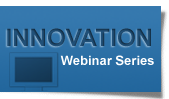 Innovation Webinar Series Graphic