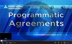 Programmatic Agreements