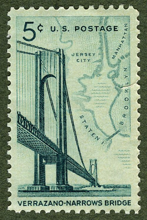 highways and bridges commemorated on u s postage stamps a