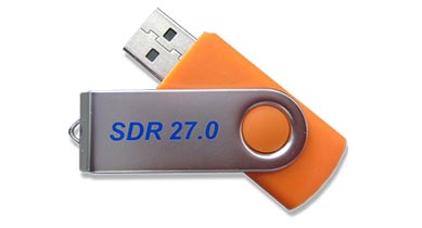 Image of SDR 27 thumb drive