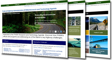 Federal Highway Administration (FHWA) Research and Technology Agenda