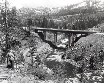 I-80, Donner Pass