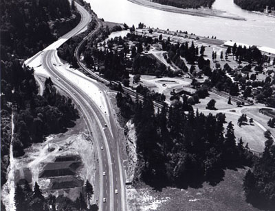 Oregon- Interstate I-84, Forest Highway Route 28; Bonneville Dam Interchange.
