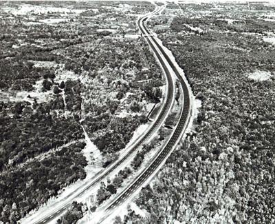 Rhode Island - I-95 in Warwick.