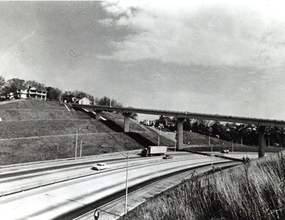 Tennessee - Federal-aid Highway Section Slope Treatment - I-24 through Missionary Ridge in Chattanooga.