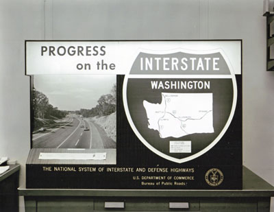 Progress of the Interstate Map.