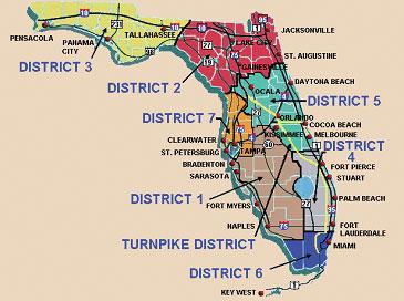 Turnpike Florida Map.Florida If 05 040 Bridge Management Safety Bridges