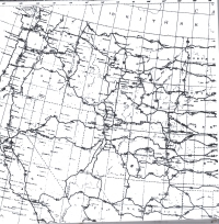 This Map Of The Northwest Shows The Final Routing Of U S 20 U S 30