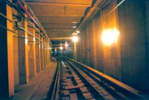 The 63rd Street-Queens Boulevard subway tunnel in New York City was recently rehabilitated. - (Photo courtesy of Fluor Daniel)