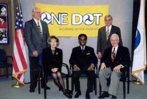The executives who developed the ONE DOT strategic approach to tunnel management