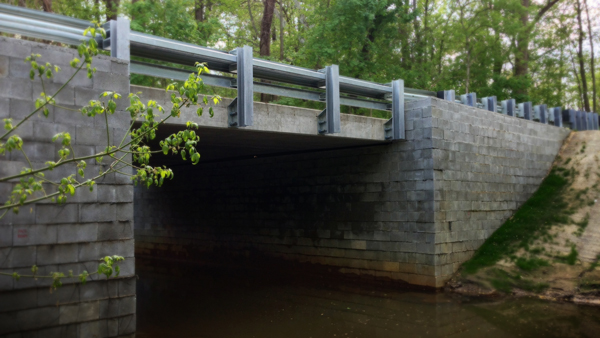 New Jersey's first GRS-IBS project replaced a flood-damaged bridge in Gloucester County