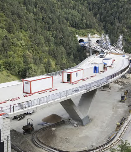 bridge and tunnel construction