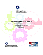 Cover page of the Successful Practices for P3s report