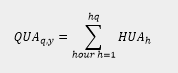 formula as described below