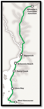 Sea-To-Sky Highway Improvement - Vancouver to Whistler, British Columbia