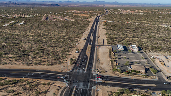 Tangerine Road Corridor Project  - Marana, Arizona