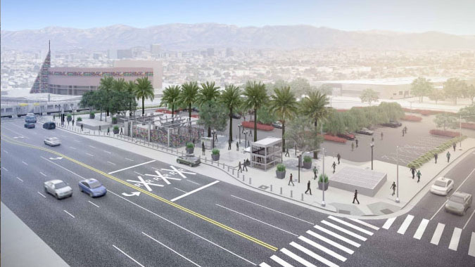 Crenshaw/LAX Transit Corridor Project  - Los Angeles, California