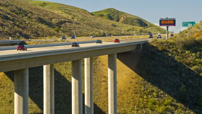 Foothill/Eastern and San Joaquin Hills Toll Roads - Orange County, California