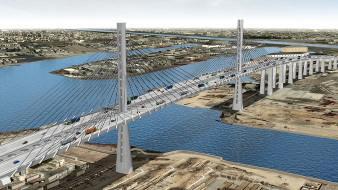 Gerald Desmond Bridge Replacement Project - Long Beach, California