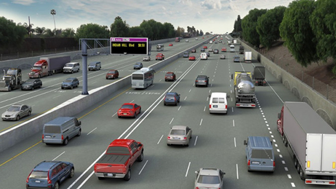 I-10 Corridor Express Lanes (Contract 1) - San Bernardino County, California