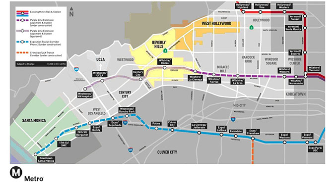 Westside Purple Line Extension, Section 1 - Los Angeles, California