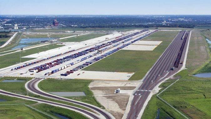 CenterPoint Intermodal Center -  Joliet - Joliet, Illinois (Metropolitan Chicago region)