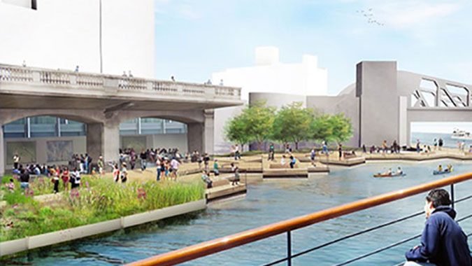 Riverwalk Expansion/Wacker Drive Reconstruction Project - Chicago, Illinois