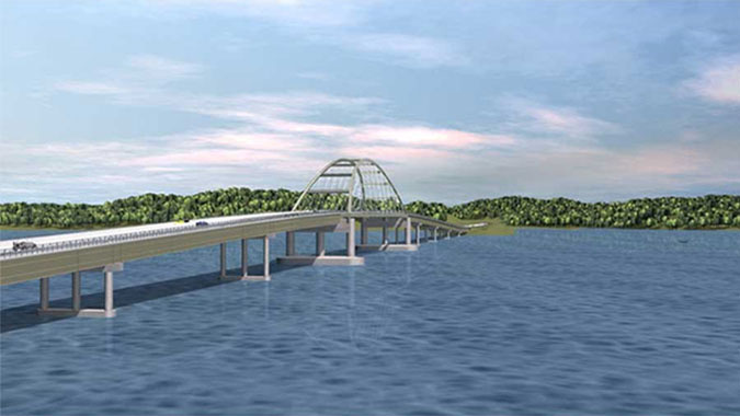 Lake Bridges: Kentucky Lake Bridge & Lake Barkley Bridge - Southwest Kentucky