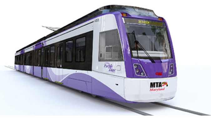 Purple Line Project -  Washington DC Metro Region / Central Maryland   (transit project)