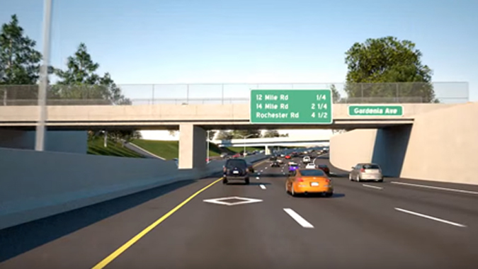 I-75 Modernization Project Segment 3 - Detroit Metropolitan Region, Michigan