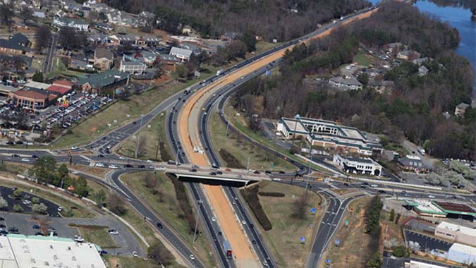 I-77 Express Lanes - Charlotte, North Carolina