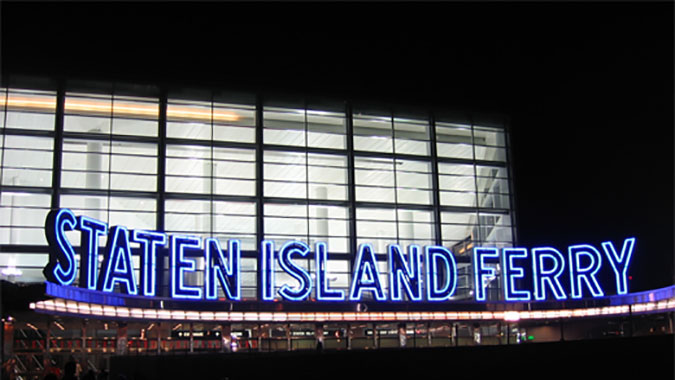 Staten Island Ferries and Terminals - New York