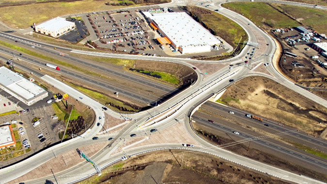 I-5 Fern Valley Interchange