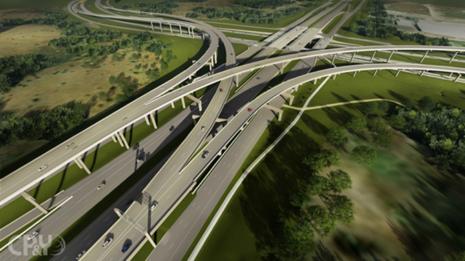 290/130 Flyovers Project (290 Toll/Manor Expressway Phase III) - Austin, Texas