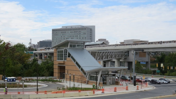 Dulles Corridor Metrorail Project - Northern Virginia