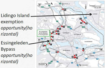 Map: Stockholm equity issues map