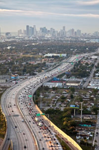 Photo of traffic congestion