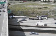 I-94 truck rollover picture 4