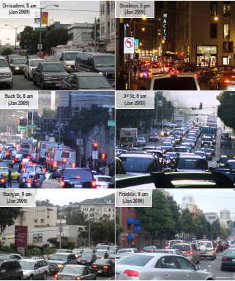 Photos of congestion