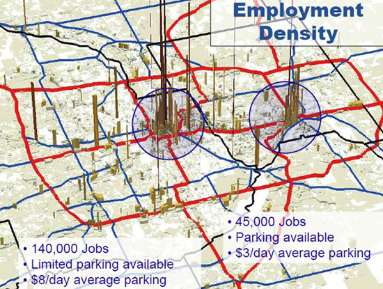 Employment Density maps