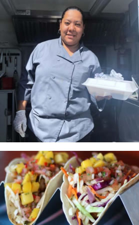 Prieto's Catering food truck photos