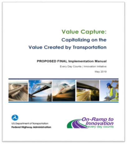 Cover for Value Capture Implementation Manual