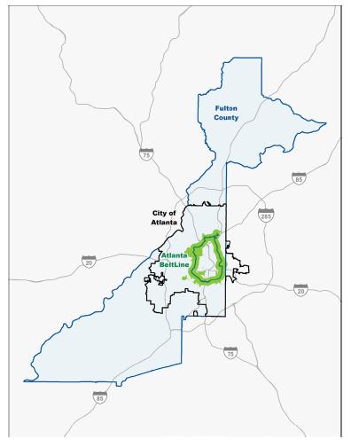 Tax-allocation district