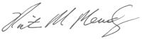 Signature: Victor M. Mendez, Administrator