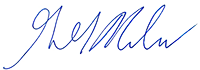 Signature: Gregory G. Nadeau, Administrator